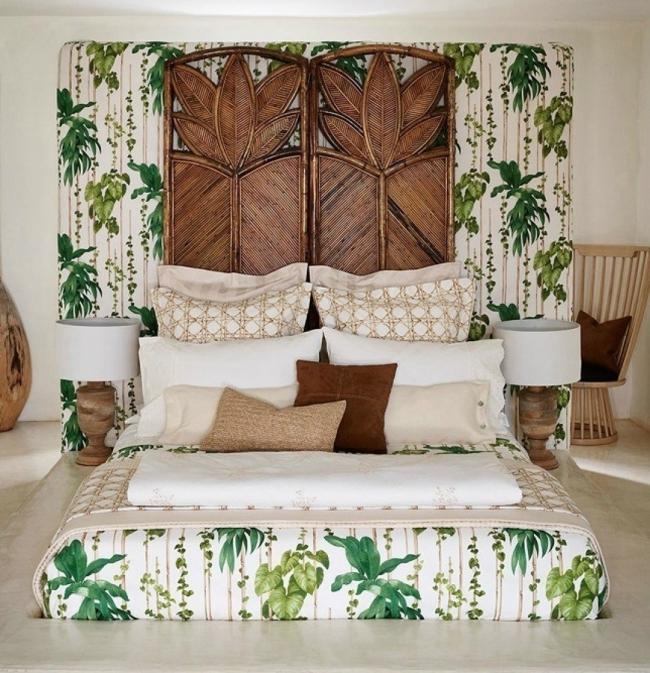 Cómo decorar con estilo tropical- habitación