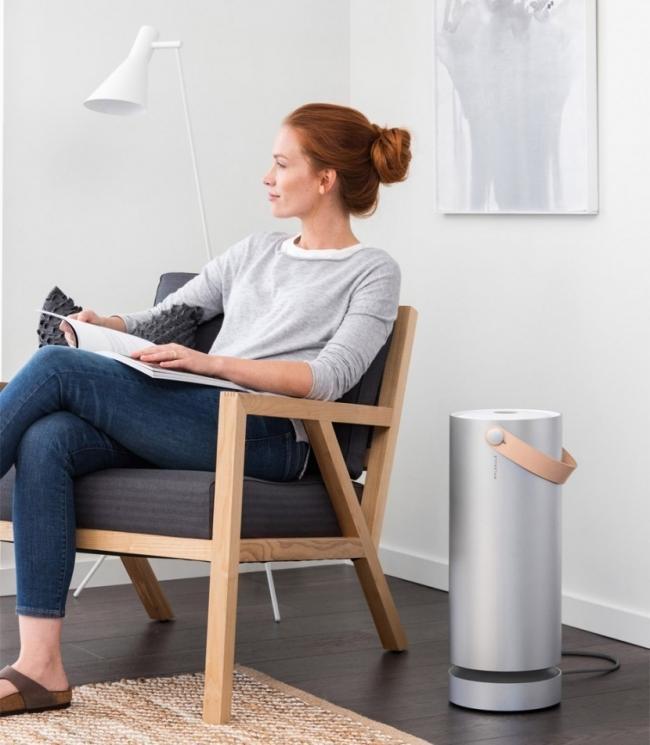 purificador de aire portátil que descompone el polvo-
