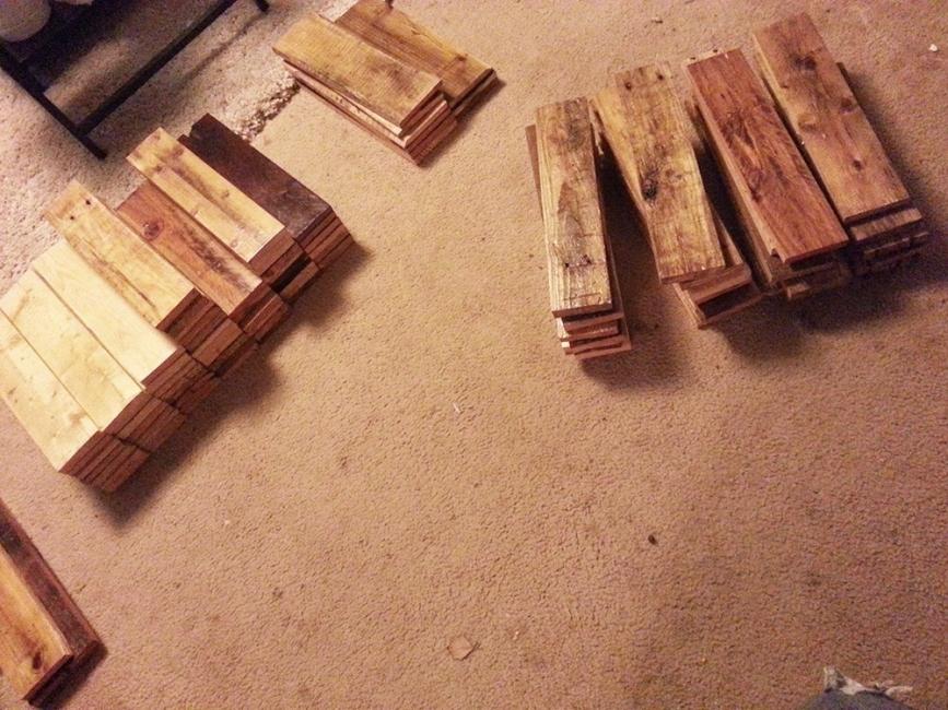 piso parquet casero reutilizando maderas - maderas