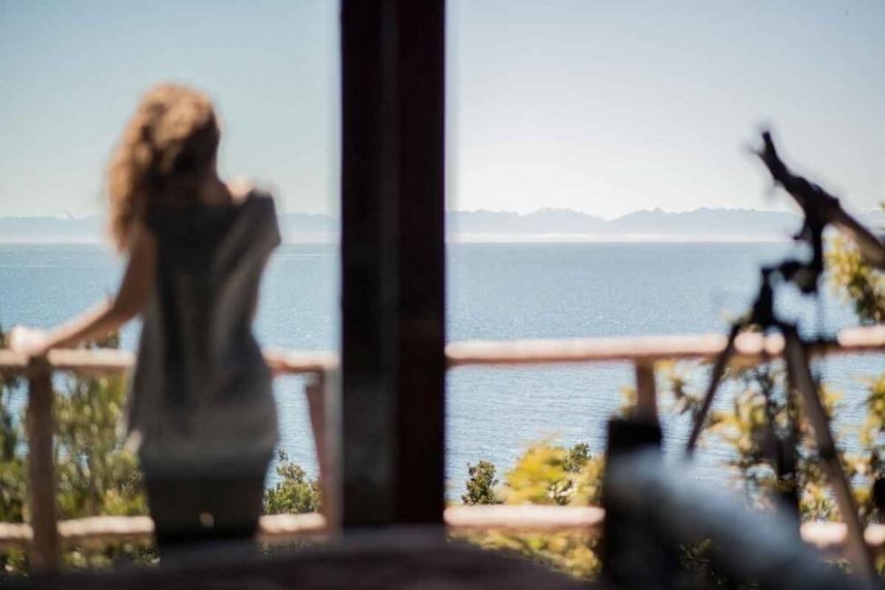 Espejo de Luna Eco Hotel en Chiloé - vista desde las habitaciones