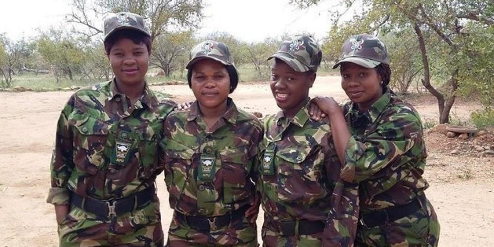 Black Mambas Mambas Negras- proteger rinocerontes