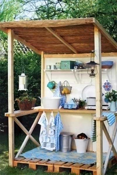 Reciclado de palets ideas para tu hogar for Cocinas hechas con palets