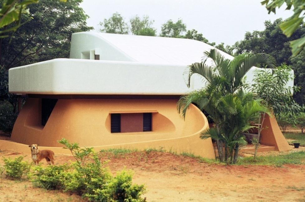 Auroville arquitectura