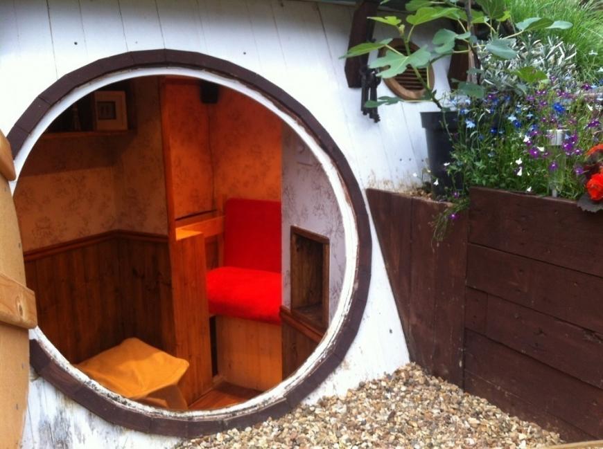 casa hobbit - puerta
