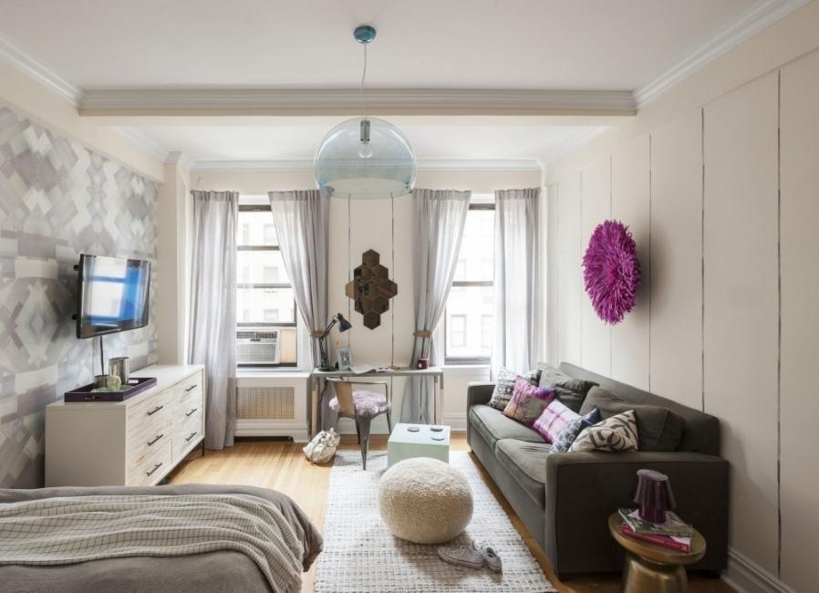 equilibrio en la decoración - espacios pequeños