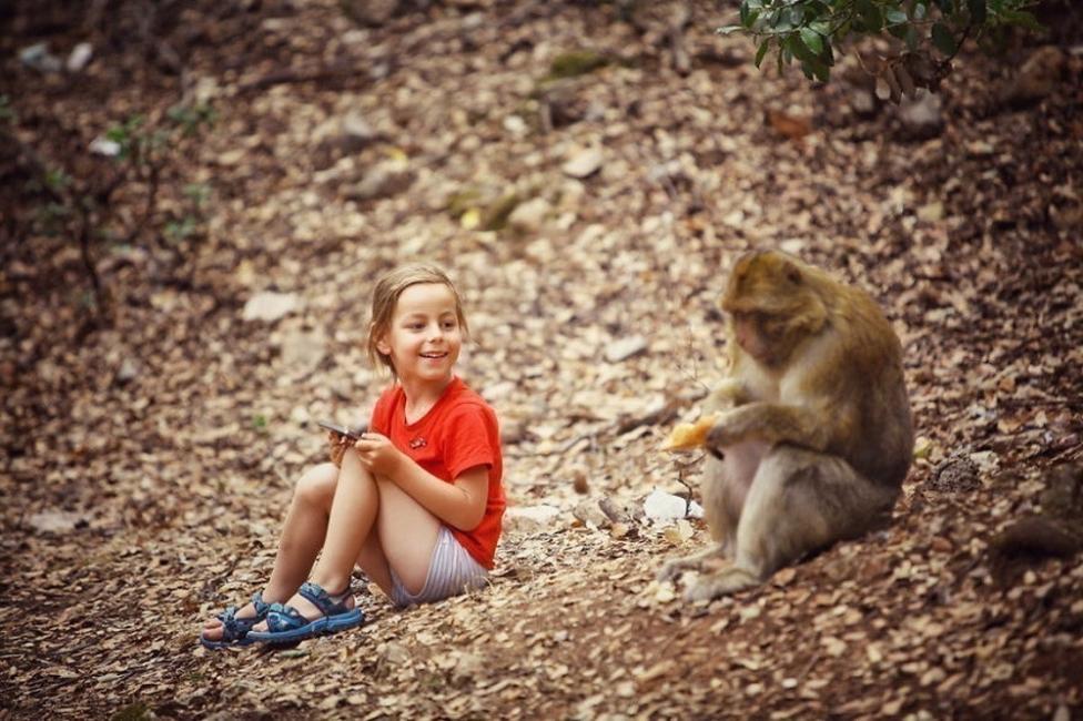 viajar con un niño pequeño- Marruecos