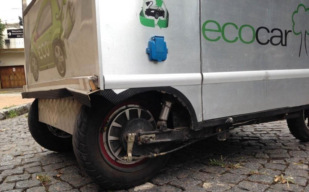 el auto eléctrico más pequeño de América Latina