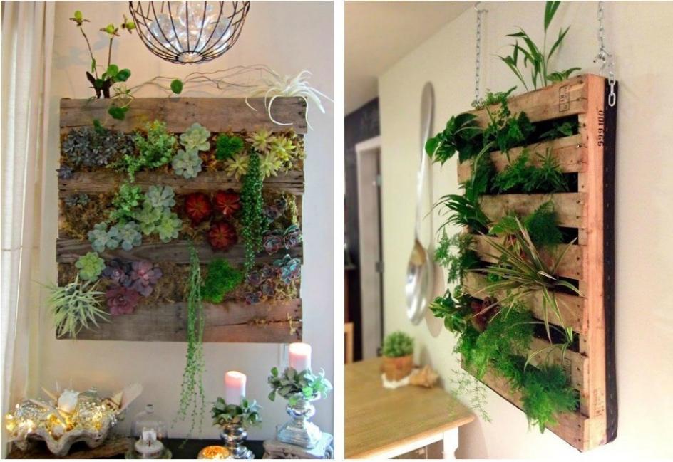Ideas para casas sin jardín- Jardines verticales