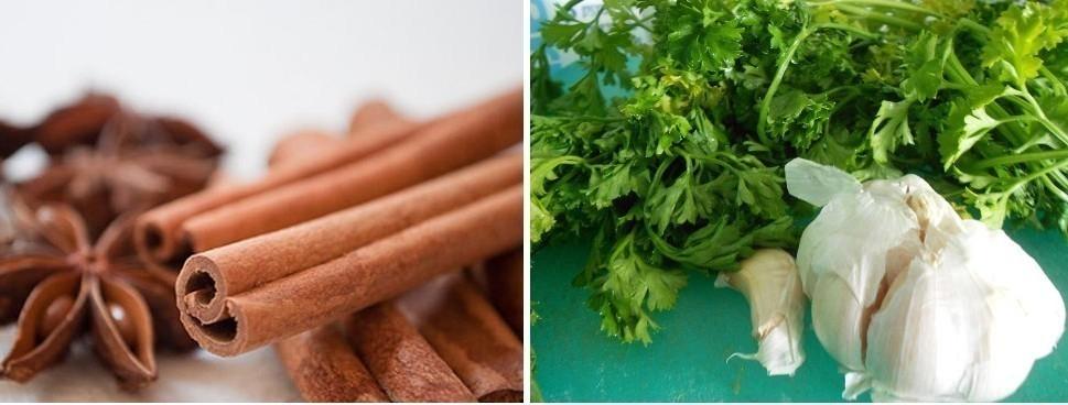 Alimentos con calorías negativas -especias