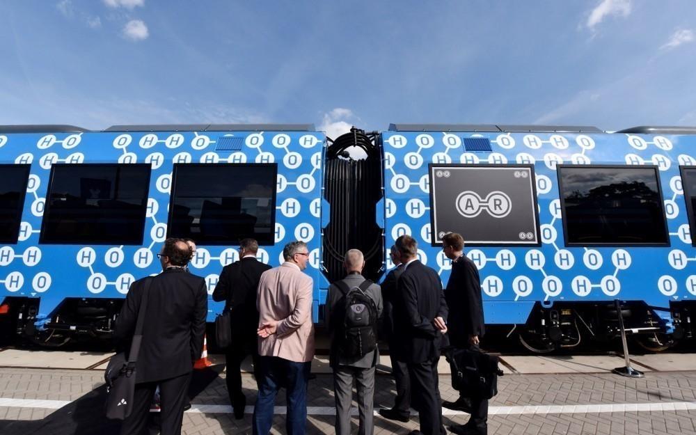 El primer tren de pasajeros que funciona con hidrógeno y con cero emisiones