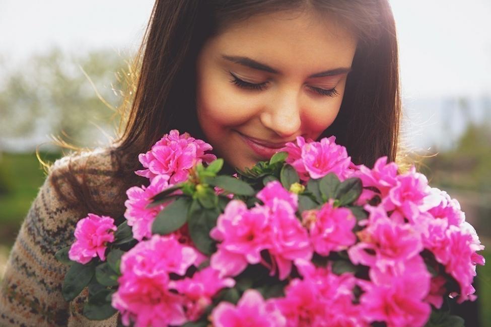 Flores y personalidad