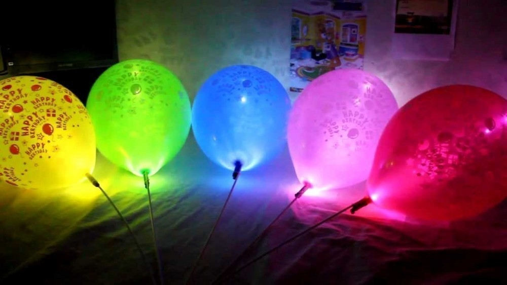 Globos luminosos - led