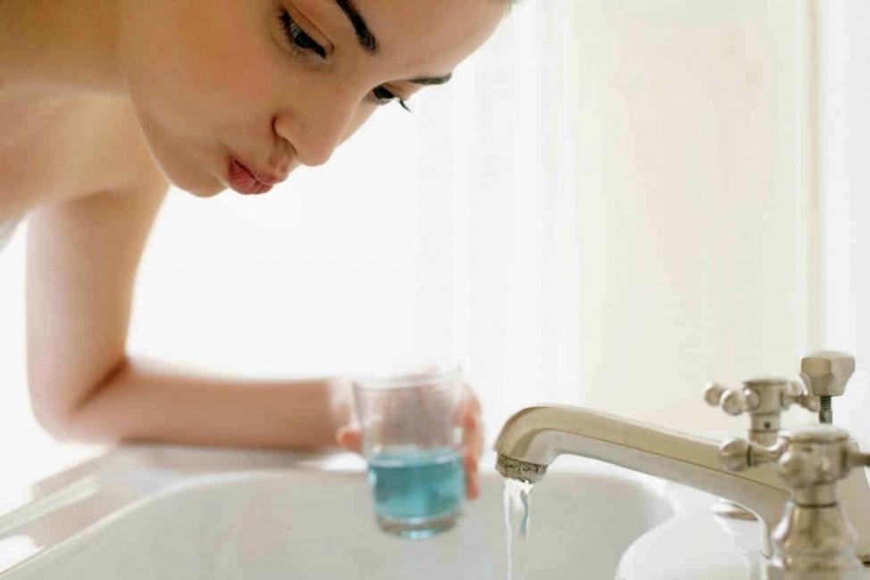 gargaras- agua oxigenada