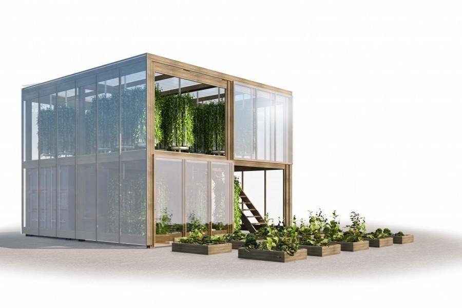 granja urbana que puede producir hasta 6 toneladas de alimento - impact farm