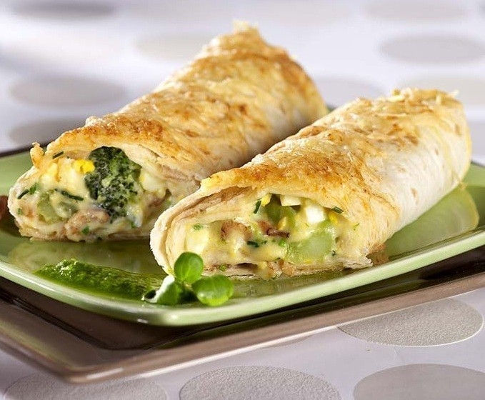 wrap de brocoli