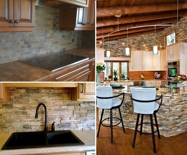 renovar tus espacios con falsa piedra- cocina