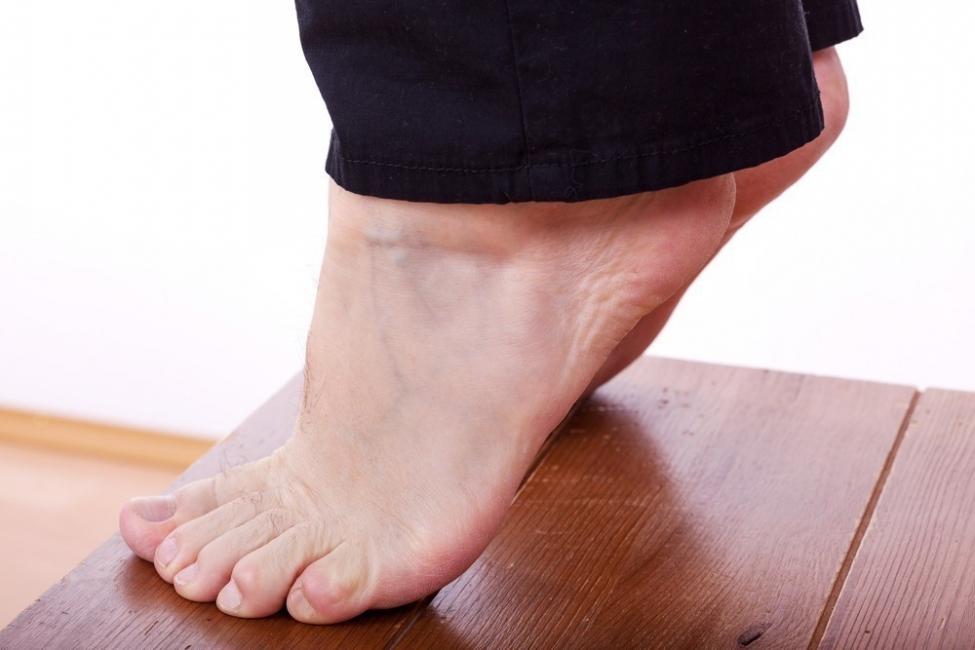 balanceo de pies