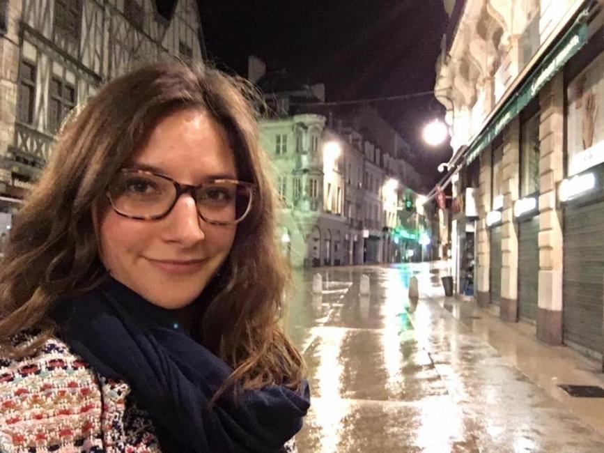 Leonie Muller- historia de una mujer que vive en un tren
