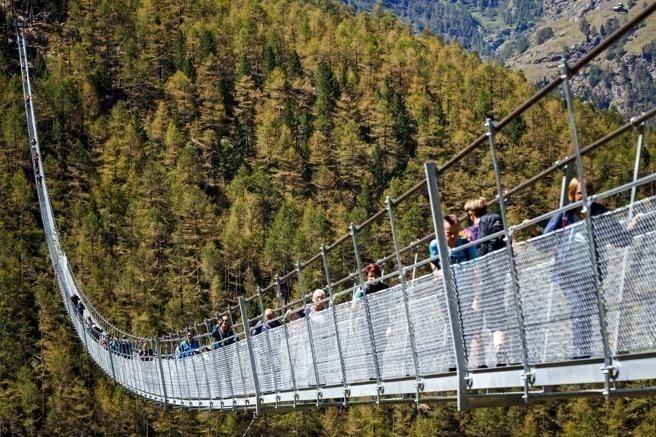 Europaweg tiene 494 metros de largo
