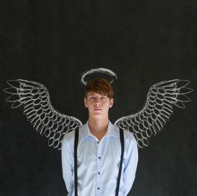 ángel en la tierra