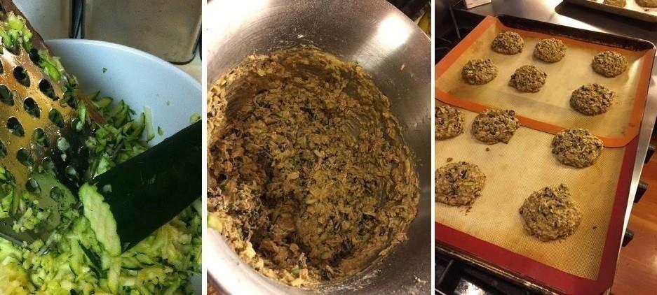 pasos galletas zucchini