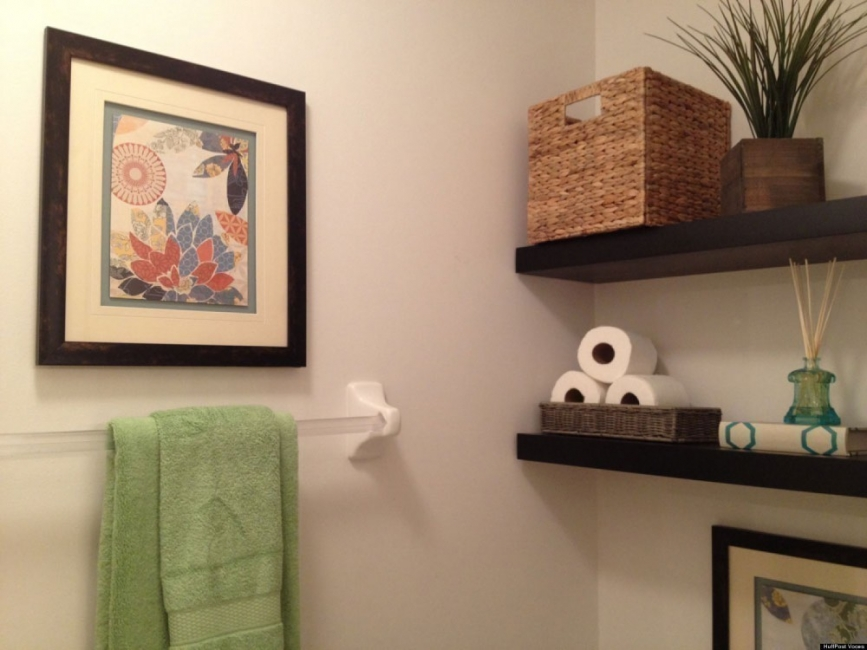C mo hacer con 15 d lares una estanter a que parece de dise o - Estantes de pared originales ...