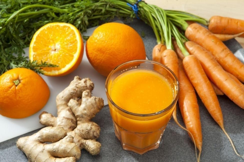 zanahoria con naranja
