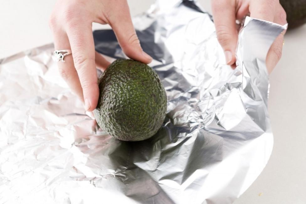 madurar palta o aguacate en el horno