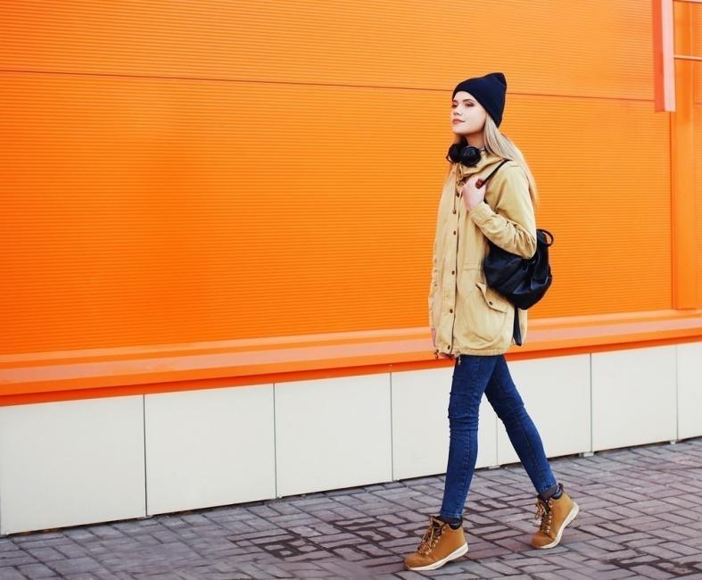 manera de caminar y personalidad- caminar con vista en alto