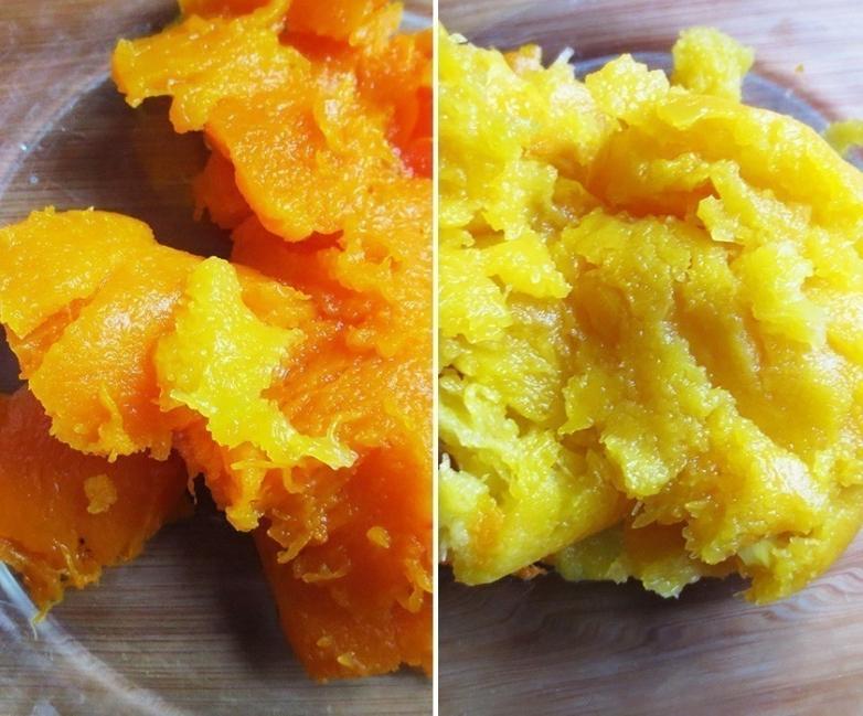 Pancitos de maíz, patata y calabaza sin gluten - paso 1