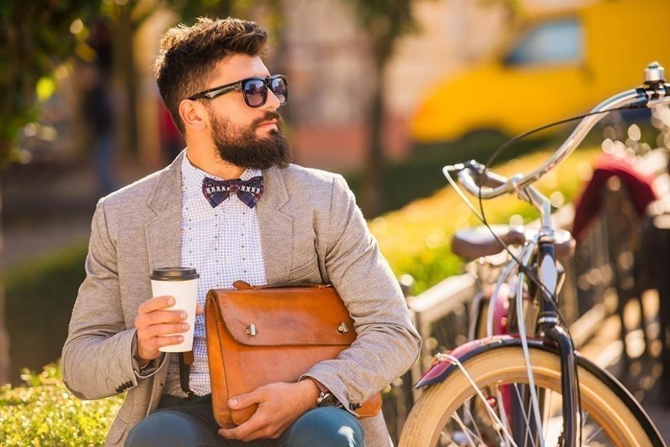Crecer la barba- hombre con barba