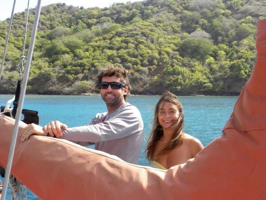 carolina - viajar en velero- recorrido