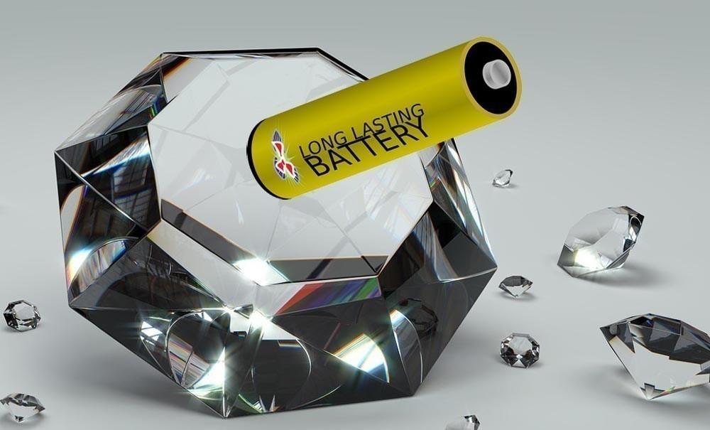 diamantes baterías