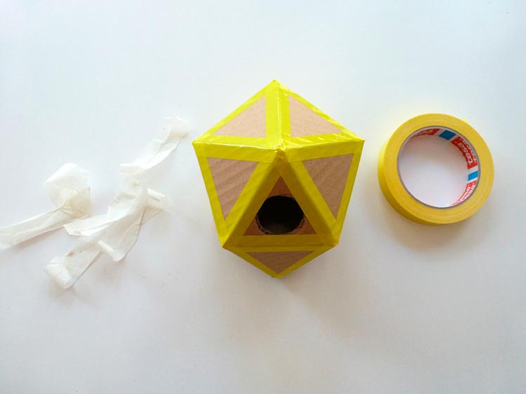 lámpara origami- armado
