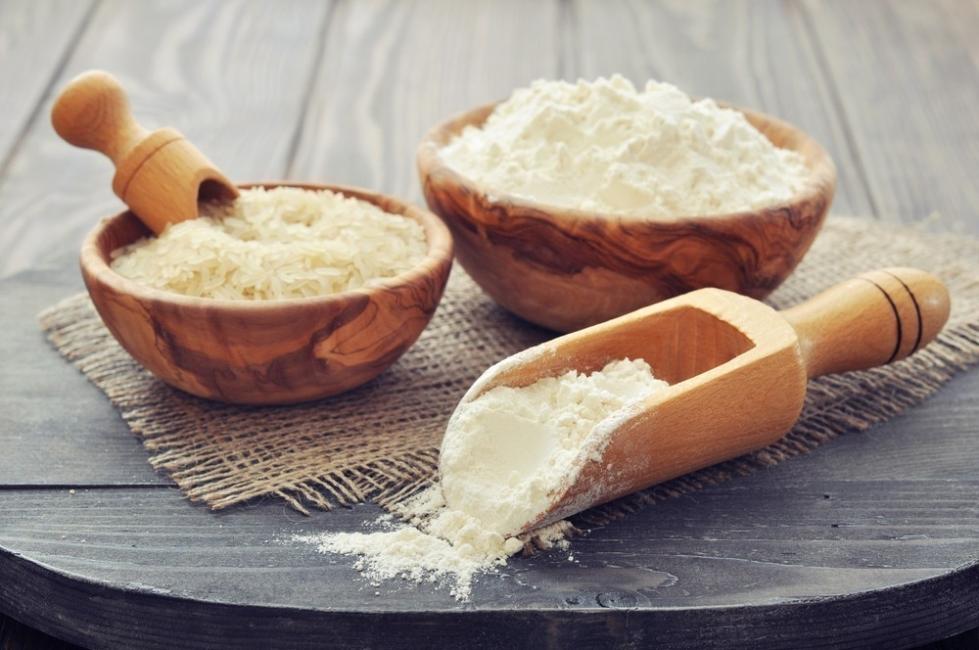 harina de arroz- Cómo rebozar si no puedes comer gluten