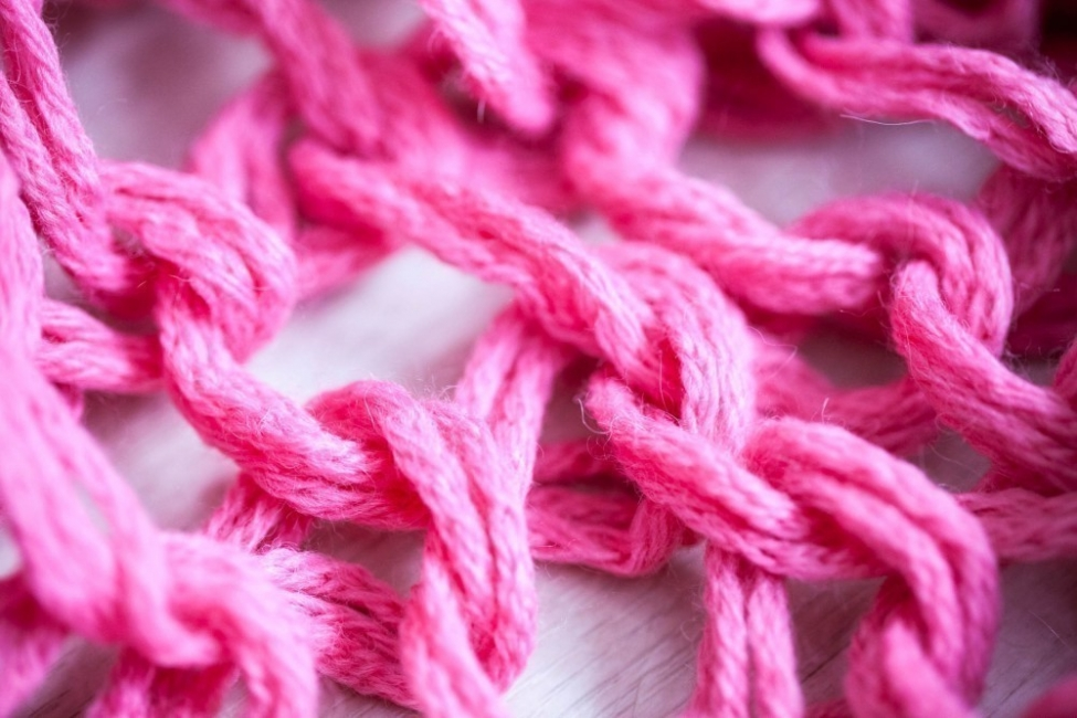 cómo hacer una bufanda sin tejer- bufanda