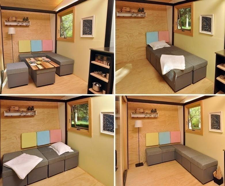 multifuncional casita - sala