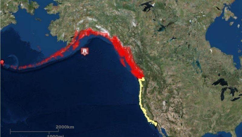 Se reportó un terremoto en Alaska