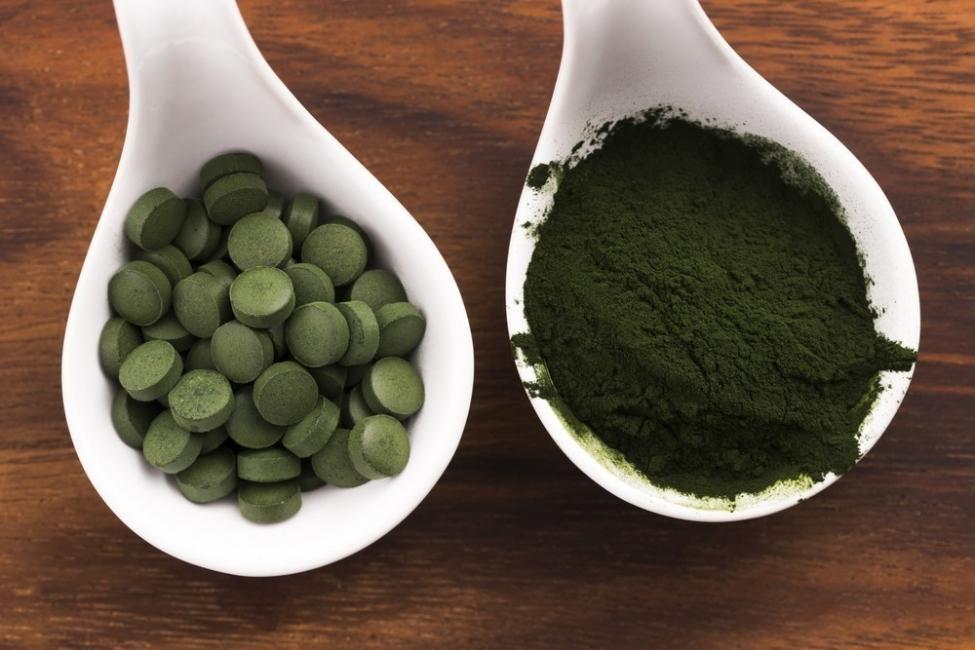 Tratar la depresión con chlorella -alga