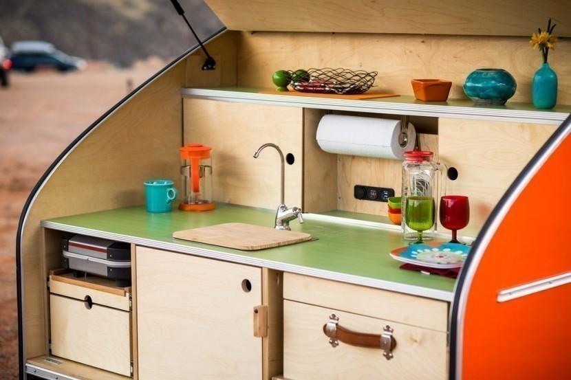 Lleva tu pequeño hogar adonde vayas - Timberleaf- cocina