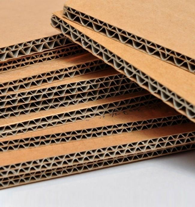 Muebles de cartón -  materiales necesarios