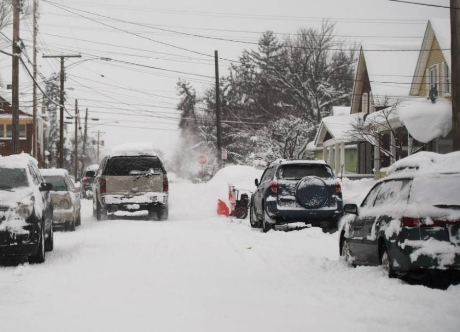 Las autoridades decretaron una alerta por vientos helados para 70 millones de estadounidenses