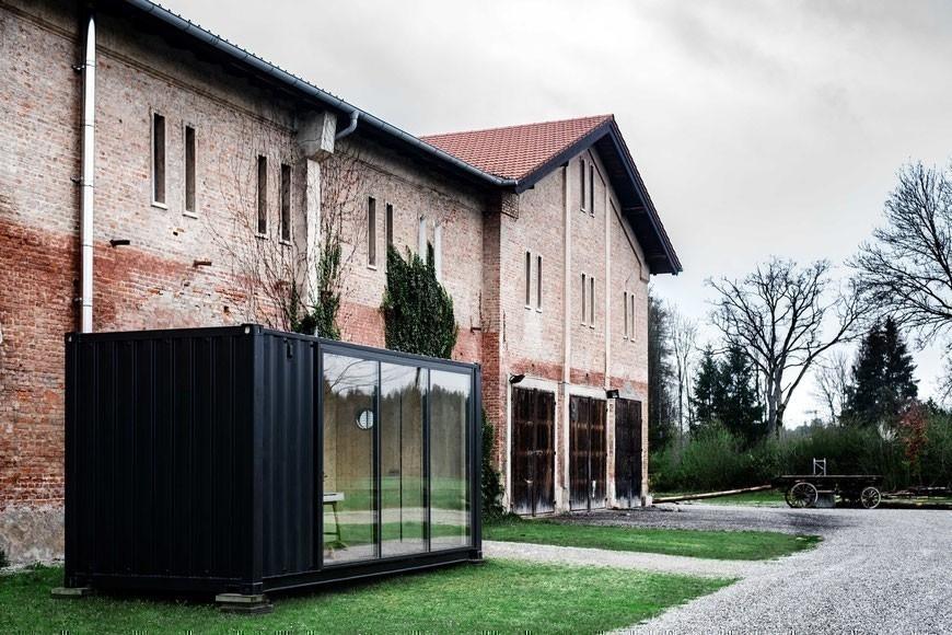 Habitación transportable- diseño alemán