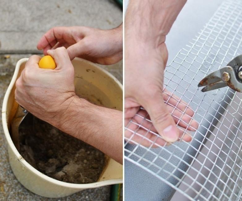 baldosas de mosaicos para tu jardín- cemento
