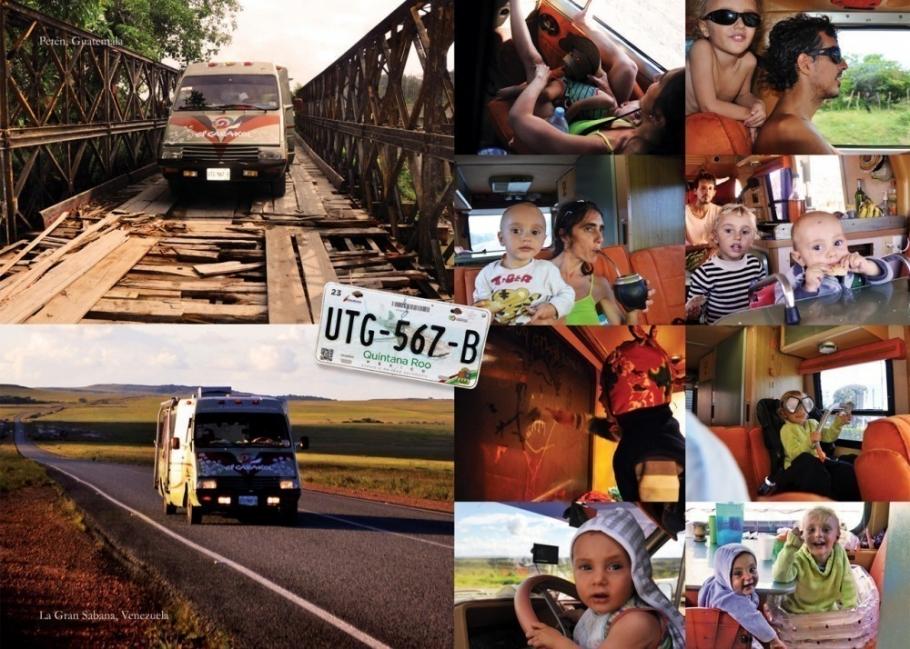 Esta familia lleva casi 20 años viajando por el mundo y ésta es su historia