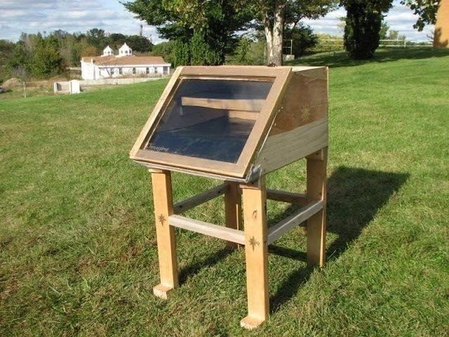 deshidratador solar casero de alimentos