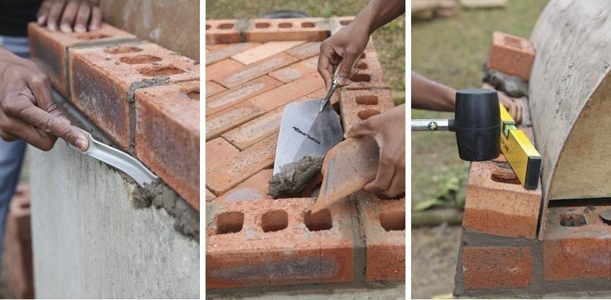cómo construir un horno para pizzas - construcción