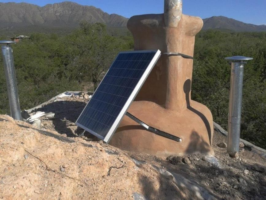 Wallala: la comunidad argentina- panel solar