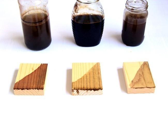 barnices naturales para madera tintes caseros