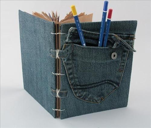 encuadernado cuaderno de jean